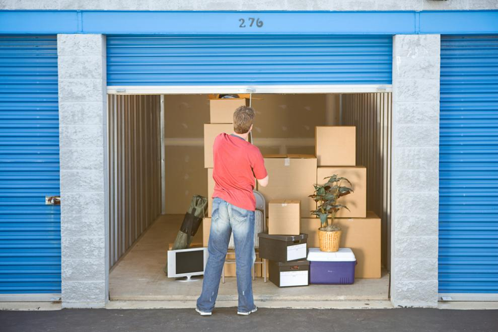storage units in Vancouver